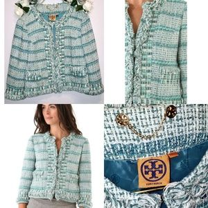 Tory Burch Jackets & Coats - Tory Burch Marion Tweed
